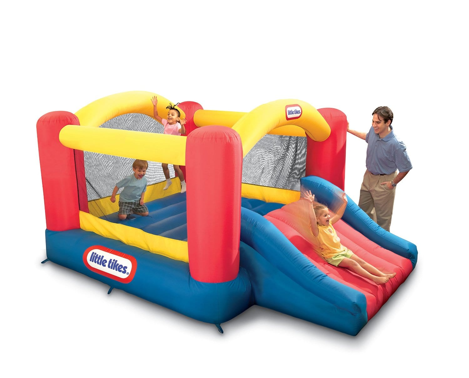 Little Tikes Jump 'n Slide Bouncer $149+Free shipping Amazon & Walmart