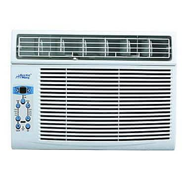 Arctic King 8000 BTU/h Window Air Conditioner, White $110 shipped Staples