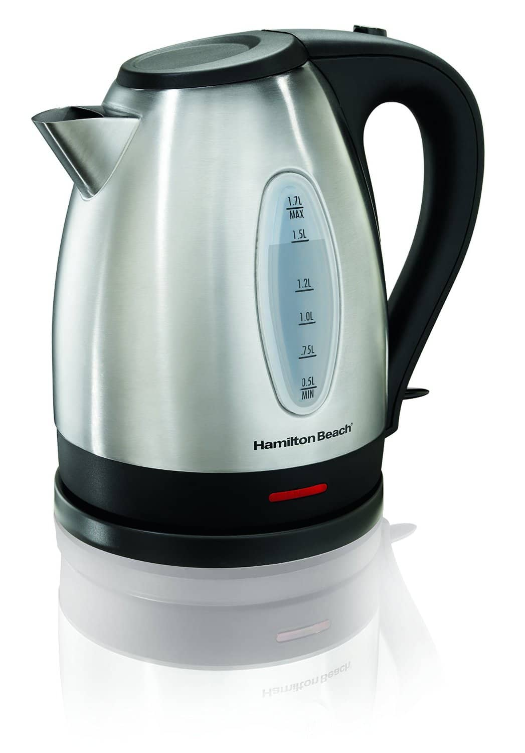 Hamilton Beach 1.7 Liter Stainless Steel Electric Kettle: Used Like New $9.47, Used Very Good $8.91 via Amazon Warehouse