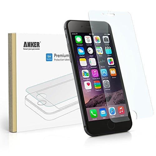 Anker Tempered Glass Screen Protector for Apple iPhone 6 $2 @ Amazon