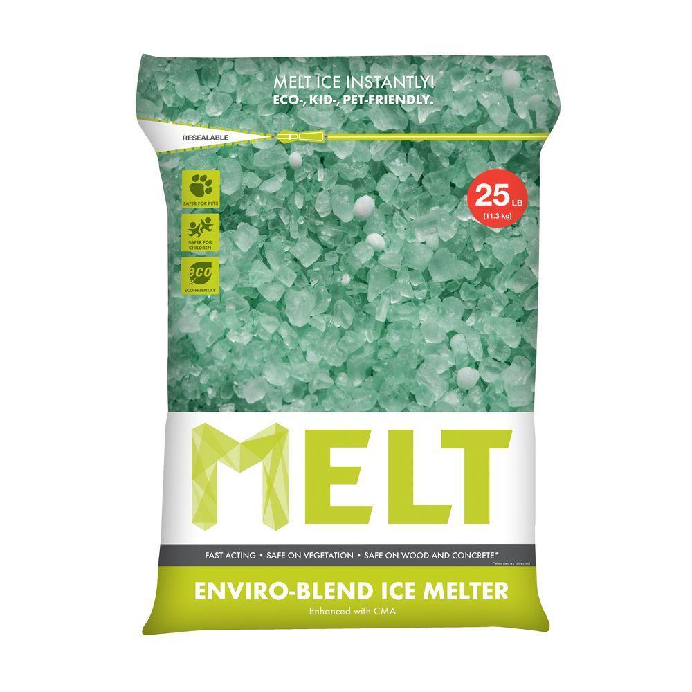 25lb Bag Snow Joe Premium Enviro-Blend Ice Melter w/ CMA  $3.80 & More + Free In-Store Pickup