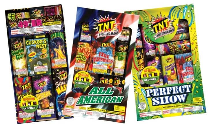 $20 Worth of TNT Fireworks for $10 at Groupon