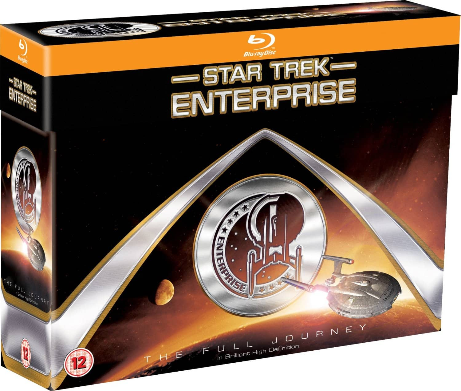 Star Trek: Enterprise: The Full Journey (Region Free Blu-ray)  $62