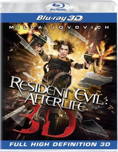 Resident Evil: Afterlife (3D Blu-ray)  $8