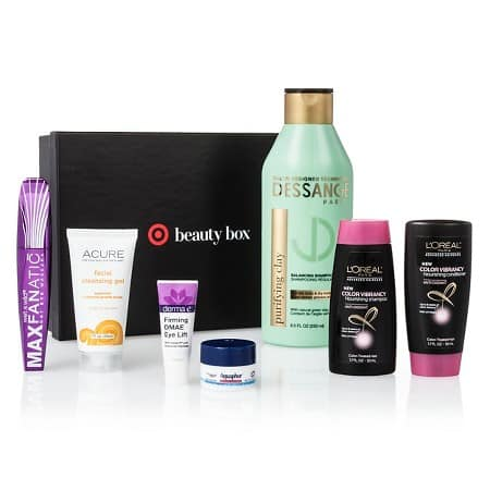 Target July Beauty Boxes