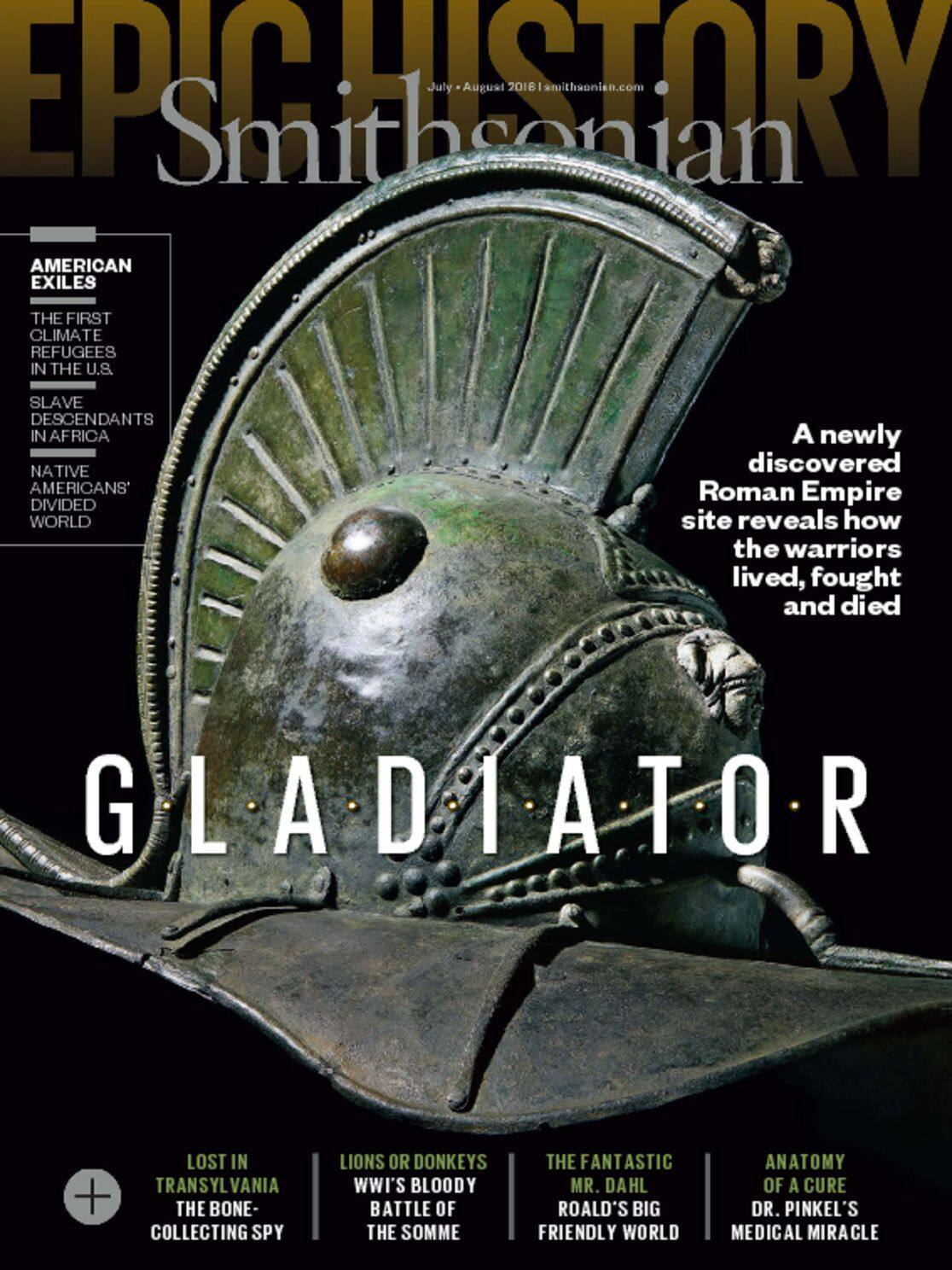 Smithsonian Magazine $8.49 per year