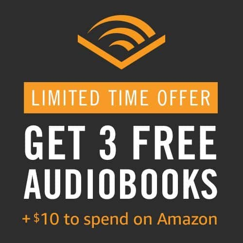 Prime Members: 3-Months Audible Trial + $10 Amazon Credit  Free