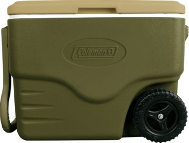 40-Quart Coleman Wheeled Cooler $18 + Free Shipping (Made in USA)