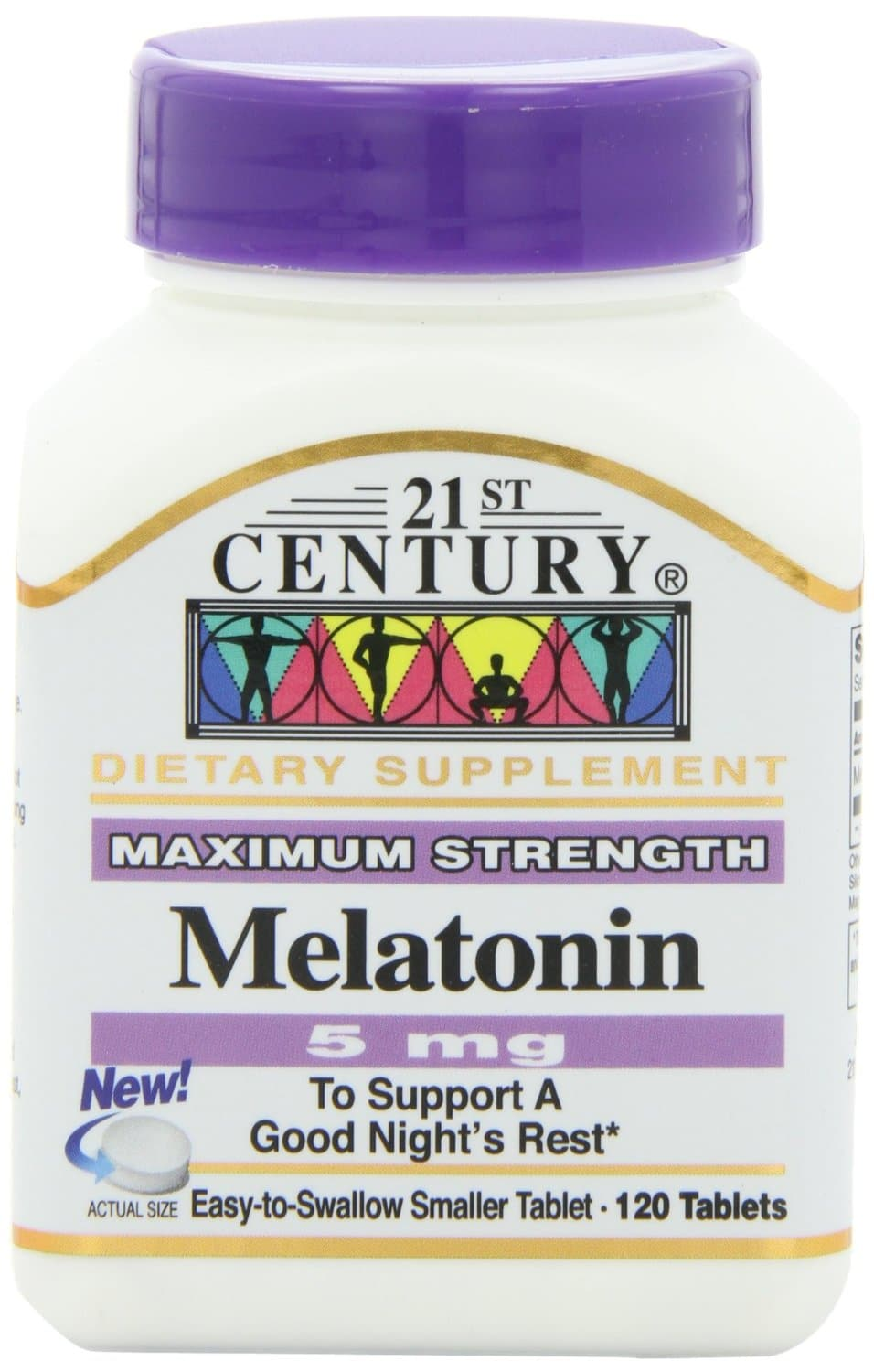 21st Century Melatonin Tablets: 120-Ct 10mg $4.65 or 5mg  $3.30 + Free S/H