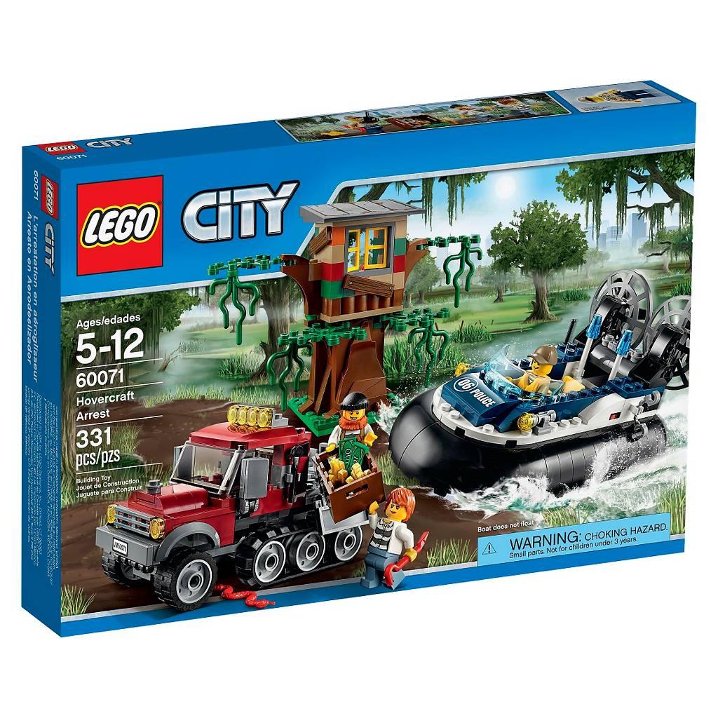 Lego City Police Hovercraft Arrest 60071 $28.34 at Target