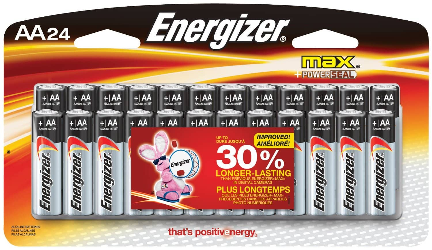 Amazon Prime Deal - 24 Pack Energizer Max AA Batteries $6.92