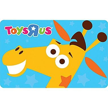 $50 Toys R Us Physical Gift Card  $42 + Free S/H