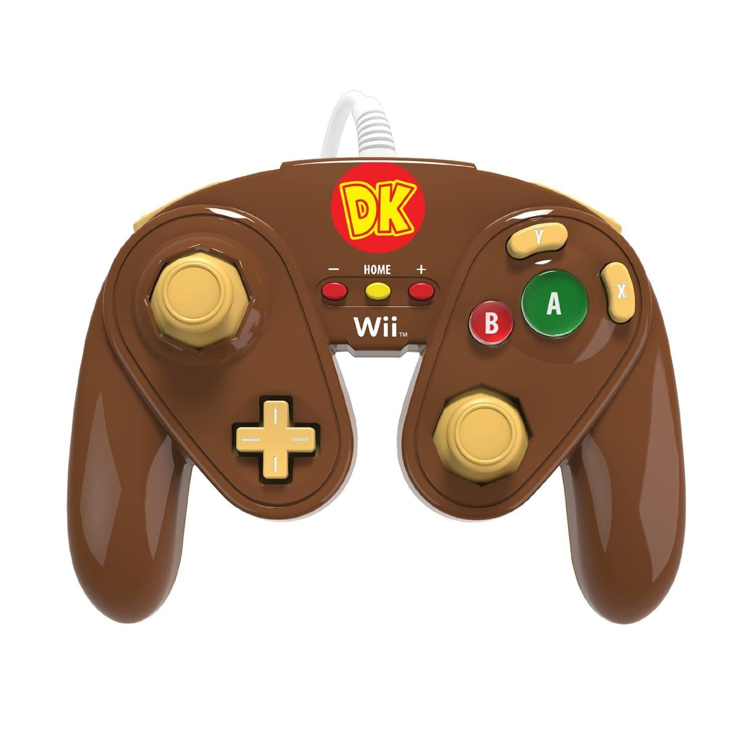 PDP Wired Fight Pad for Wii/Wii U (Donkey Kong)  $10