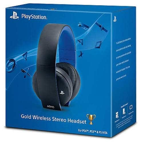 Sony PlayStation Gold Wireless Stereo Headset (Jet Black) $59.99 + Free Shipping w/ MasterPass Checkout