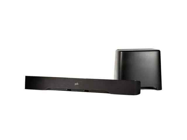 240W Polk Audio Universal Soundbar w/ Bluetooth Subwoofer + $25 Newegg Gift Card $175 + Free Shipping