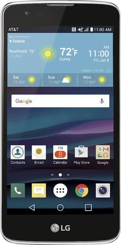 "AT&T GoPhone LG Phoenix 2 5"" 4G LTE Prepaid Phone  $50 + Free S/H"