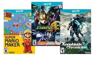 GCU Members: Star Fox Zero, Xenoblade Chronicles X (Wii U)  $24 & More + Free In-Store Pickup