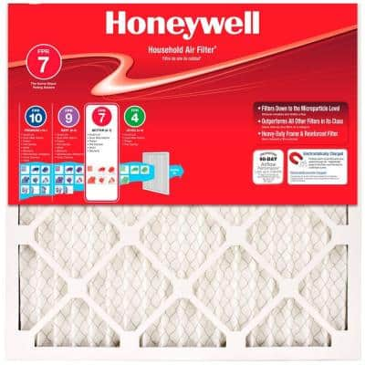 Honeywell Filters are back at Home Depot 4-Pack Allergen Plus Pleated FPR 7 Air Filters $22.99 + free shipping