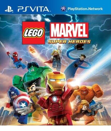 LEGO Marvel Super Heroes (PS Vita Digital Code) $5.99 via Amazon