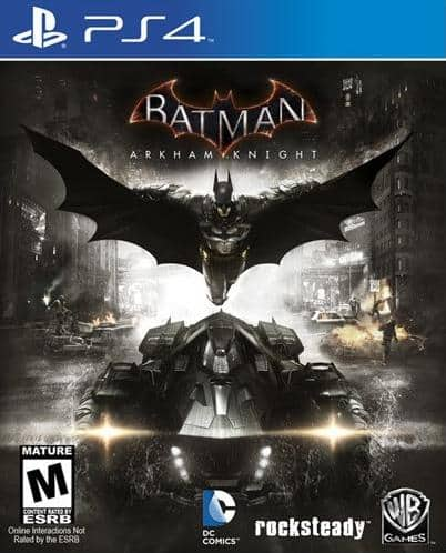 GCU Members: Batman: Arkham Knight (PS4 or Xbox One)  $8 & More + Free Store Pickup