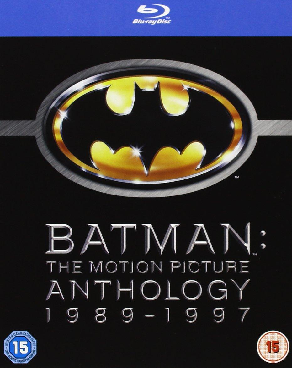 Batman: The Motion Picture Anthology (Region Free Blu-Ray)  $13.25