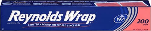 200 Sq.Ft. Reynolds Wrap Aluminum Foil $6.36 or Less + Free Shipping Amazon.com