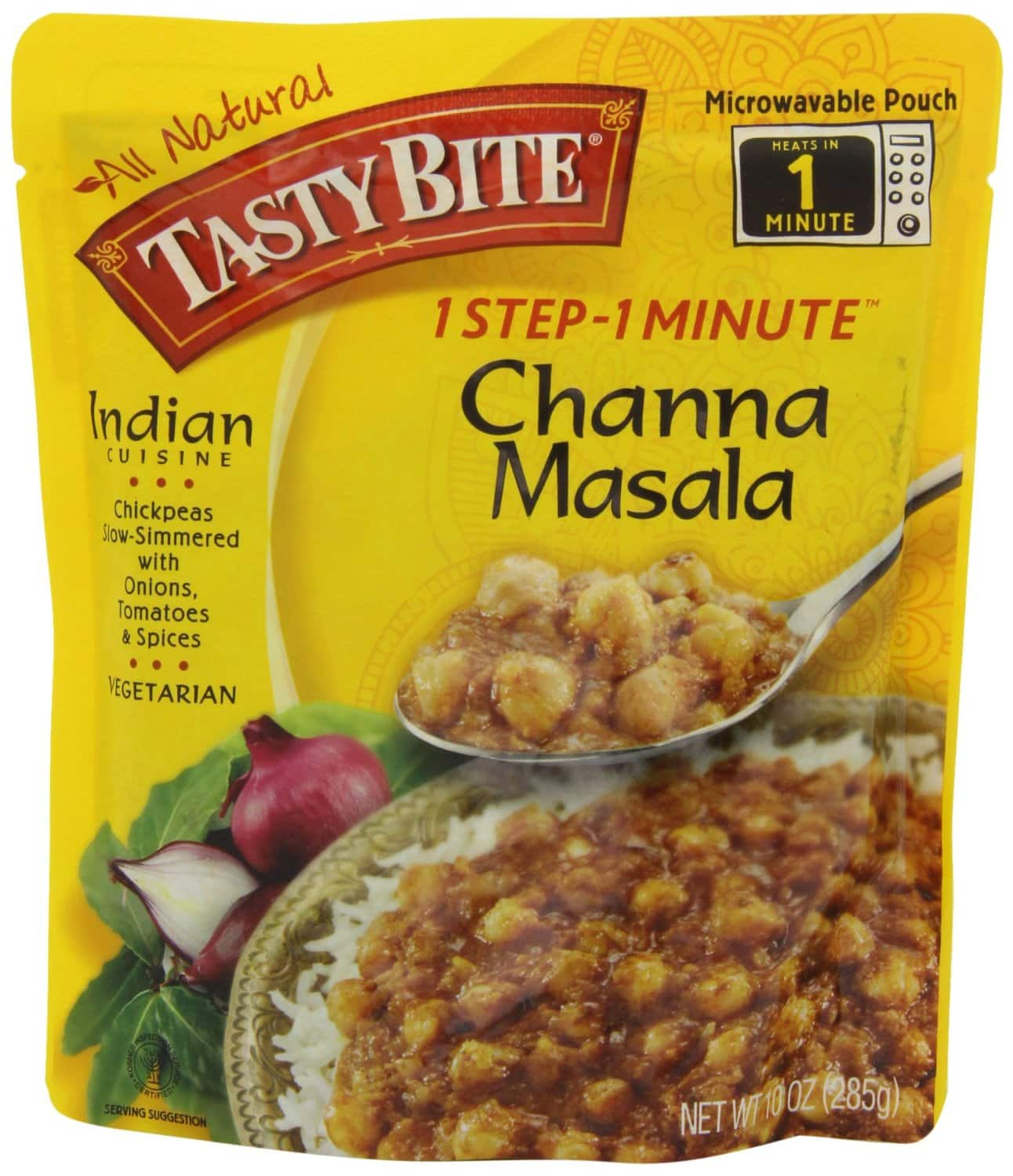 Prime Members: 6-Pack Tasty Bite Indian Entree  $15 & More + Free S&H