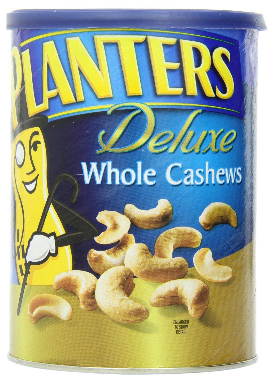 Planters: 14.5oz. Pistachio Mix $8.80, 18.25oz. Whole Cashew  $6 & More + Free S/H