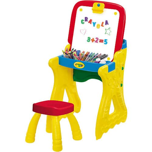 ToysrUs: Crayola Play 'n Fold Art Studio (Easel with Magnetic Dry Erase Board + Magnetic Letters) for $25.99 with Free Shipping or Free Store Pickup