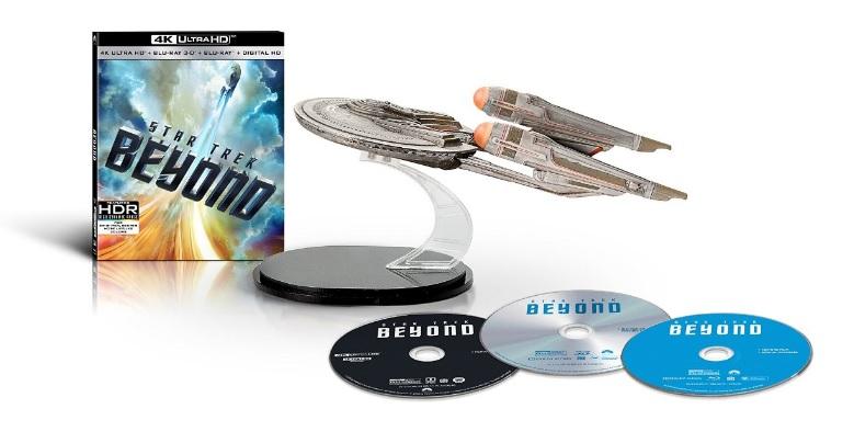 Star Trek: Beyond Amazon Exclusive Set (4K UHD/3D/Blu-Ray)  $50 + Free S/H