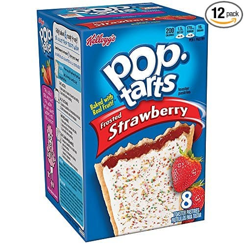 Pop-Tarts Frosted Strawberry, 14.7-Ounce, 8-Count Boxes (Pack of 12) - $12.82 or less w/S&S