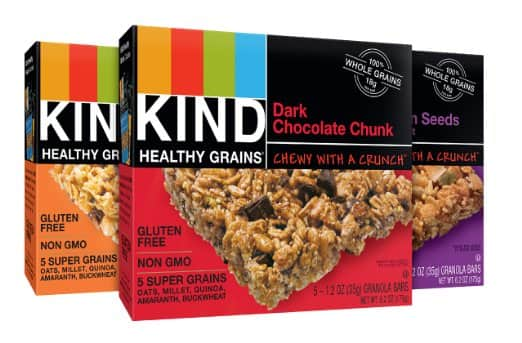 15-Count Kind Healthy Grains Granola Bars (Variety Pack)  $7.50 + Free S/H