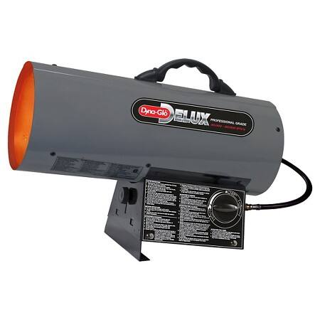 Prime Members: Dyna-Glo Delux Liquid Propane Forced Air Heater  $52 + Free S/H