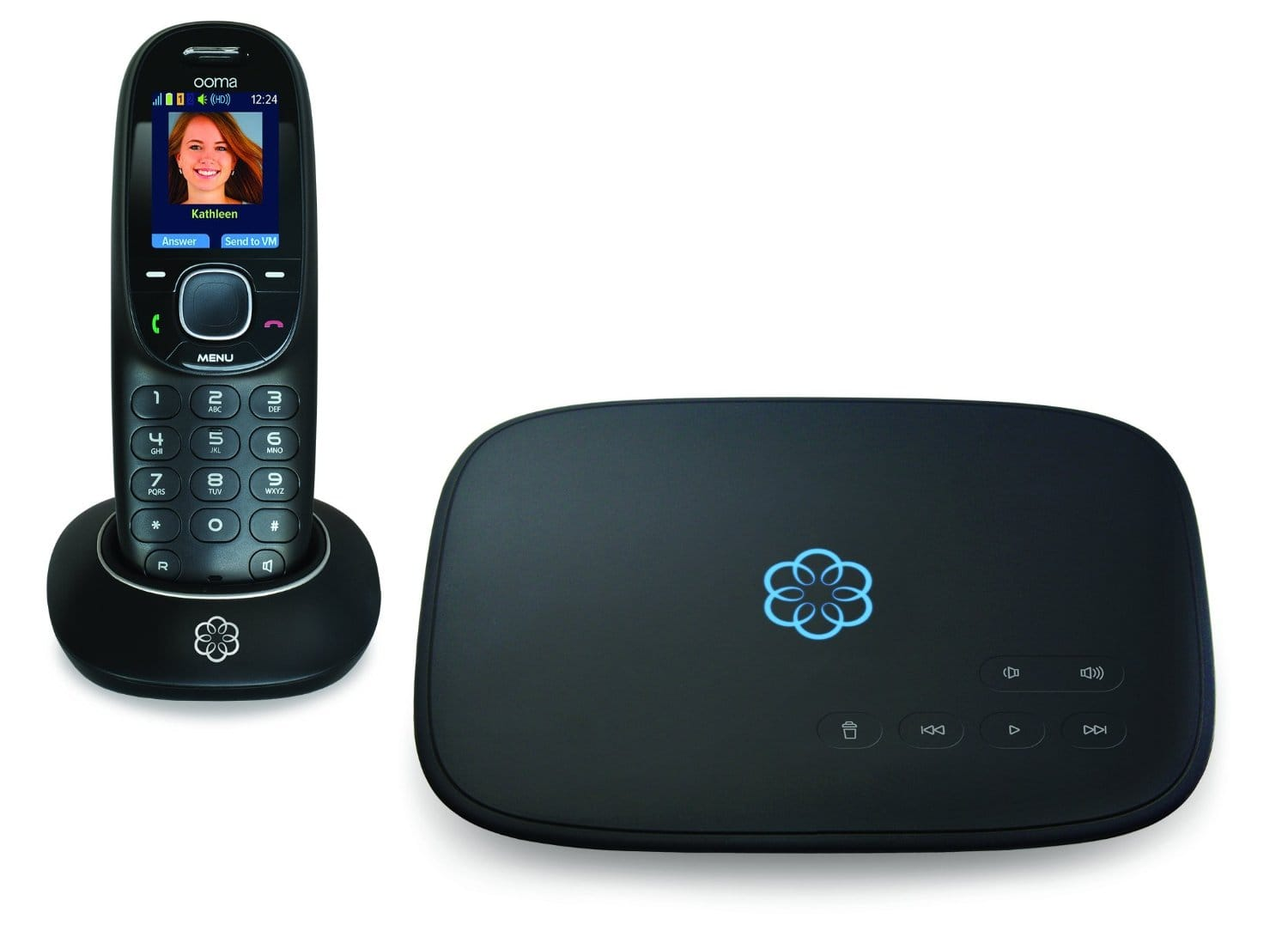 Ooma Telo Free Home Phone Service w/ Ooma HD2 Handset  $99.99 + Free Shipping