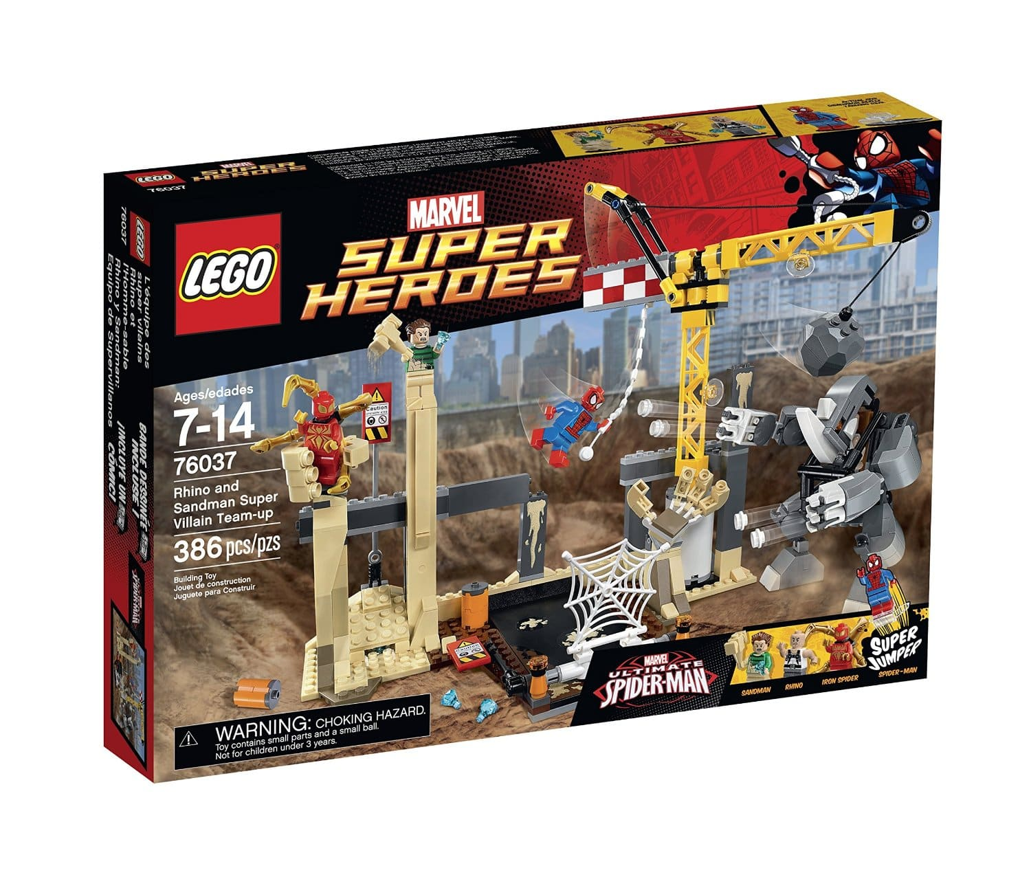 LEGO Super Heroes Rhino & Sandman Super Villain Team-Up  $29 + Free In-Store Pickup