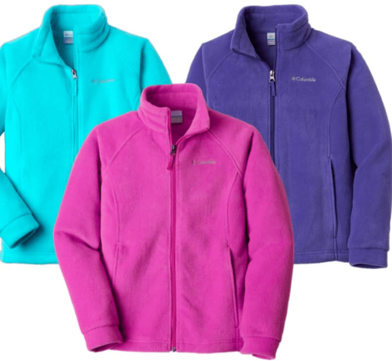 Columbia Girl's Fleece Jacket (Various Colors) $15.73 Each + Free Store Pickup @ REI