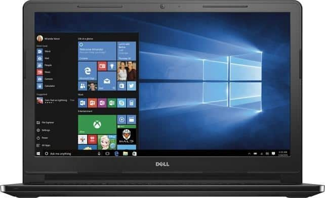 "Dell Inspiron 15.6"" Laptop: i3-5015U. 4GB RAM, 1TB HDD, Win 10 $249.99 ($239.99 w/ Visa Checkout) & More + Free Shipping"