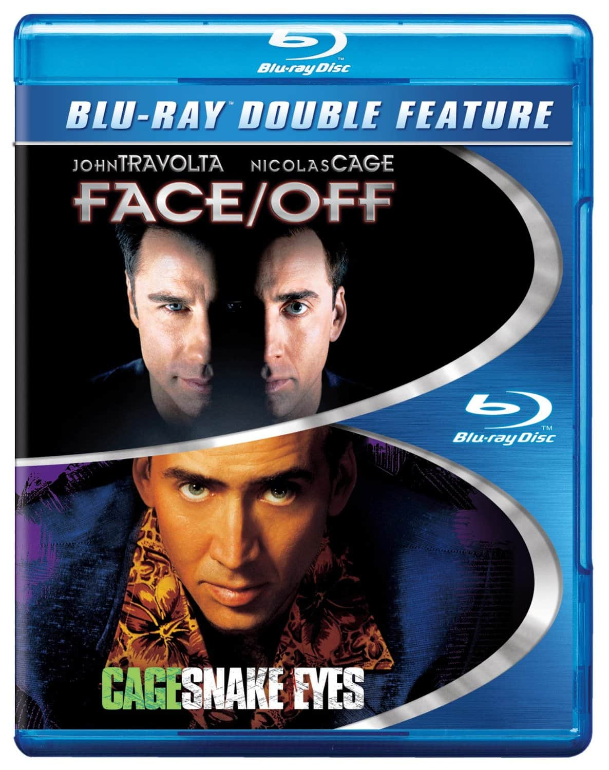 Blu-Ray Double Feature Movies: Face/Off + Snake Eyes  $5 & Many More