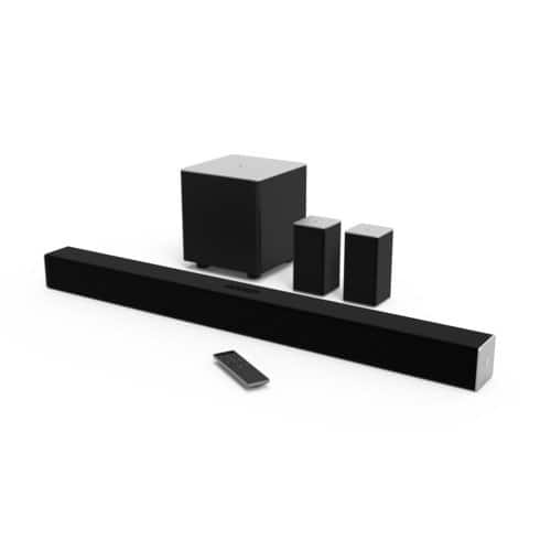 "Prime Members: 38"" VIZIO 5.1-Ch Sound Bar w/ Subwoofer/Speakers  $150 + Free S/H"