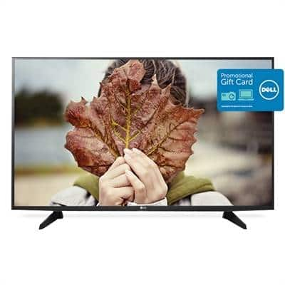 """LG 49"""" Smart LED HDTV 49LH5700 + $150 eGift Card $400"""