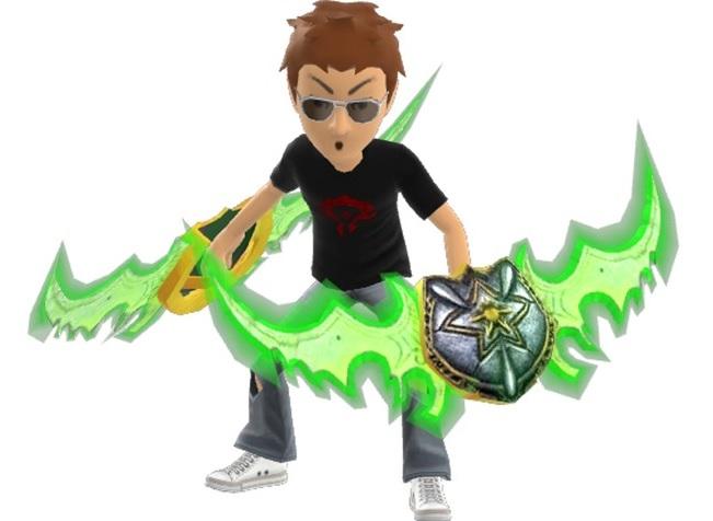 Xbox Avatar Prop: World of Warcraft: Legion Warglaives (free)