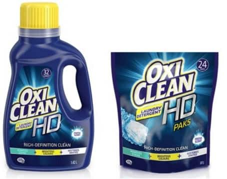 99¢ OxiClean Laundry Detergent at Walgreen or Rite Aid w/ Coupon