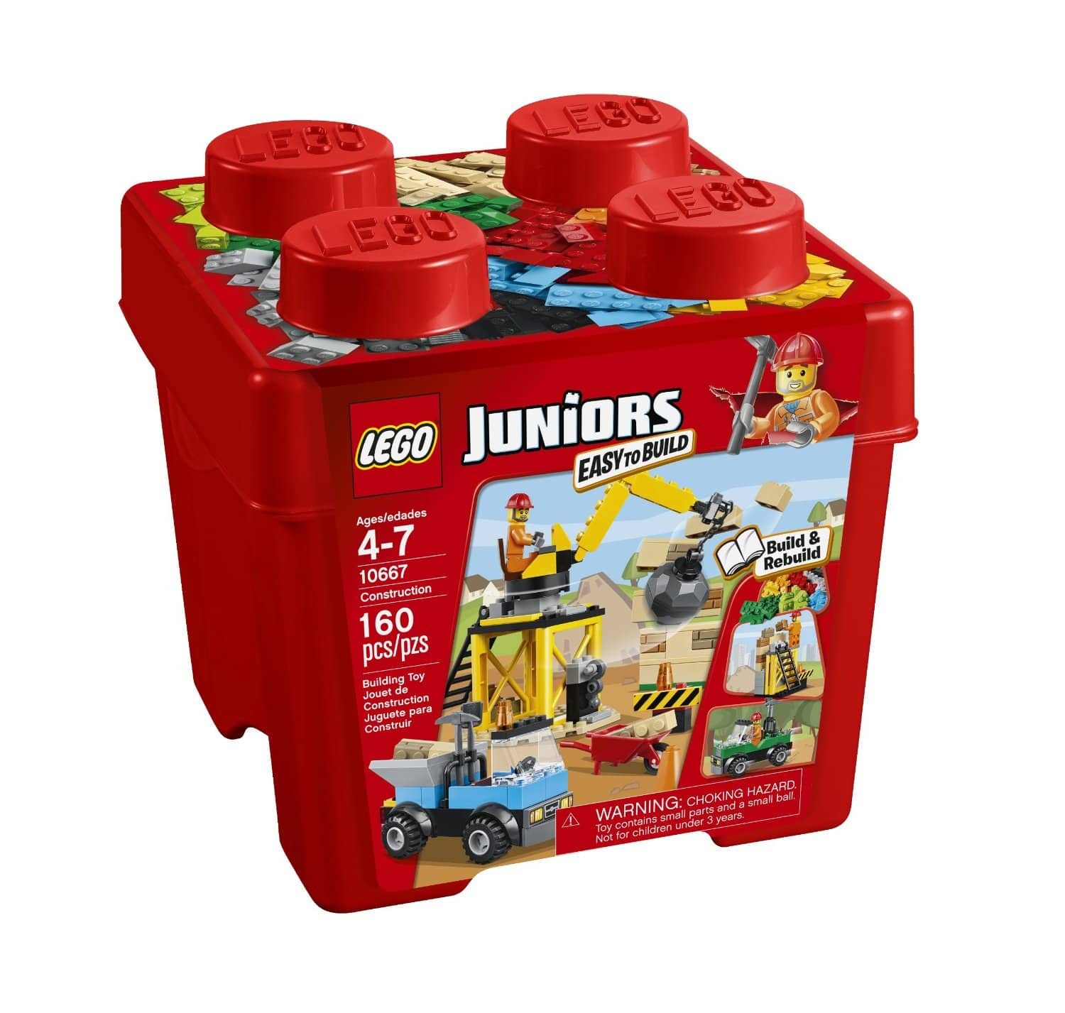 LEGO Juniors Construction Building Set  $11 + Free Ship to Store