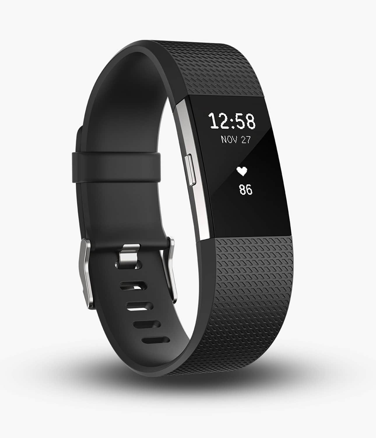 Fitbit Charge 2 Heart Rate + Fitness Wristband Pre-Order (various colors)  $114.60 + Free S/H