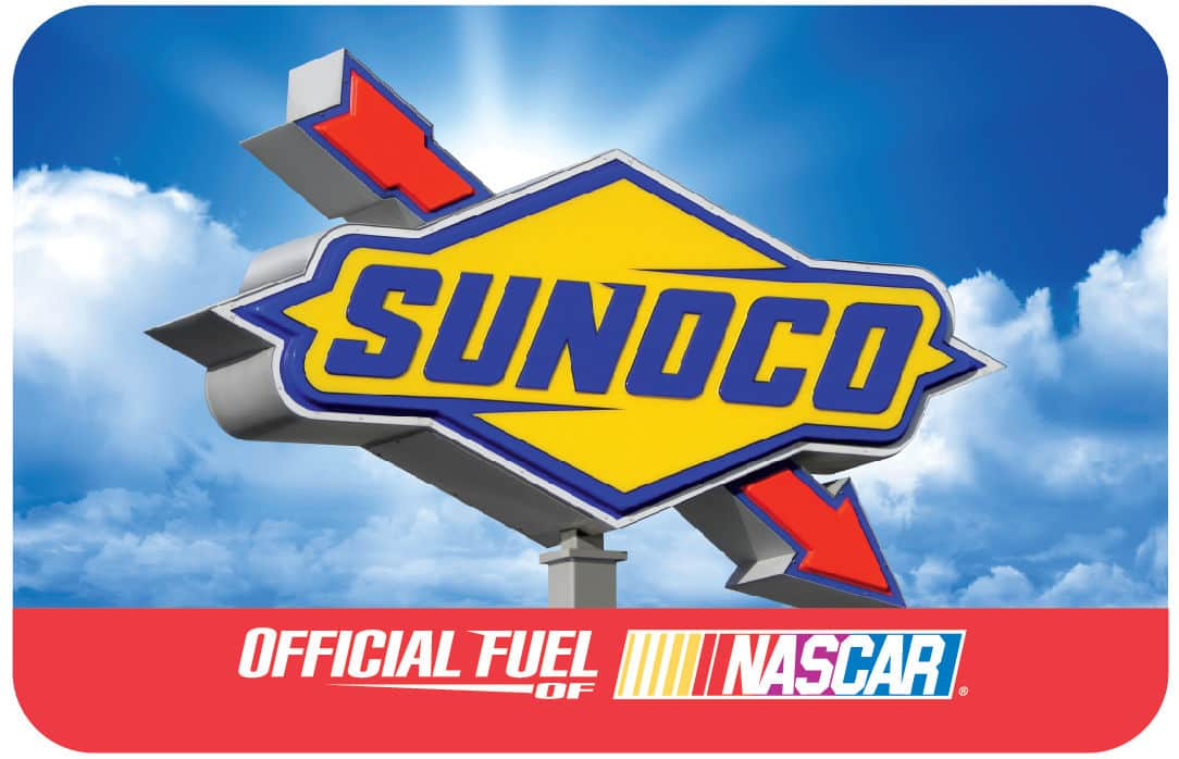 $100 Sunoco Gas Gift Card  $92 + Free S/H