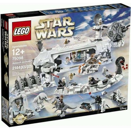 2144-Piece LEGO: Star Wars Assault on Hoth Playset  $218.75 + Free S/H