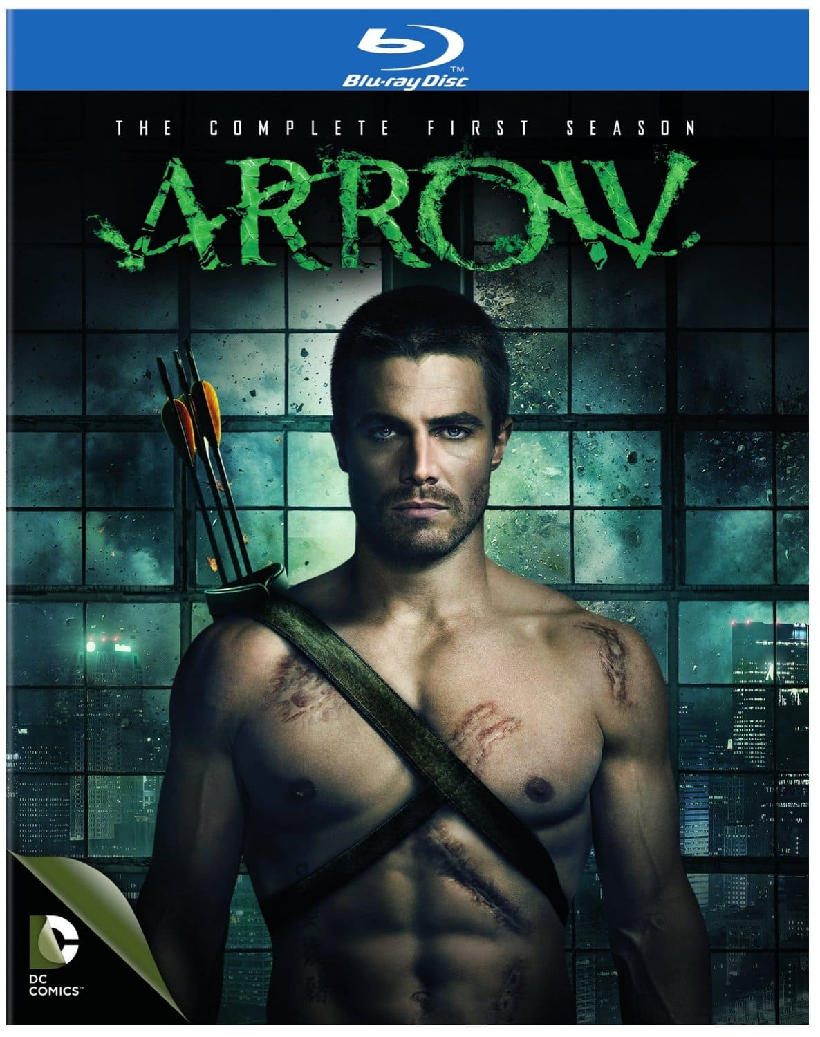 Arrow: The Complete First Season (Blu-Ray) $9.99 via Amazon or Best Buy