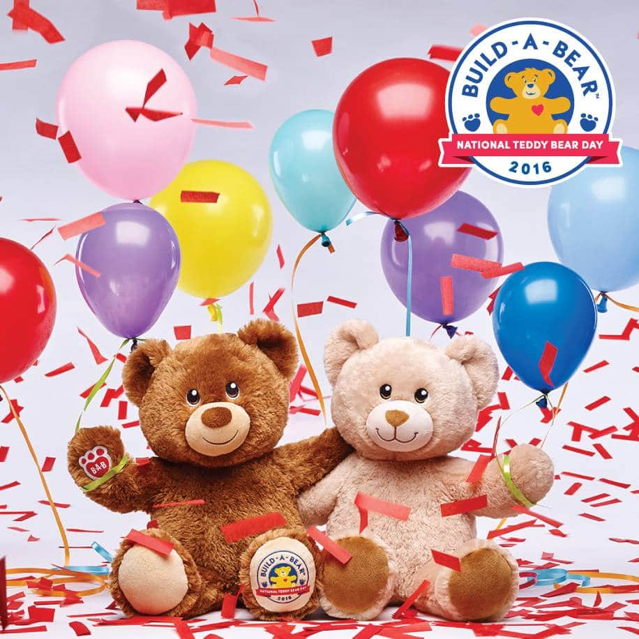 Build-A-Bear In-Stores: Limited Ed. Furry Friends Teddy Bear  $5 (Valid Sept 9, 2016)