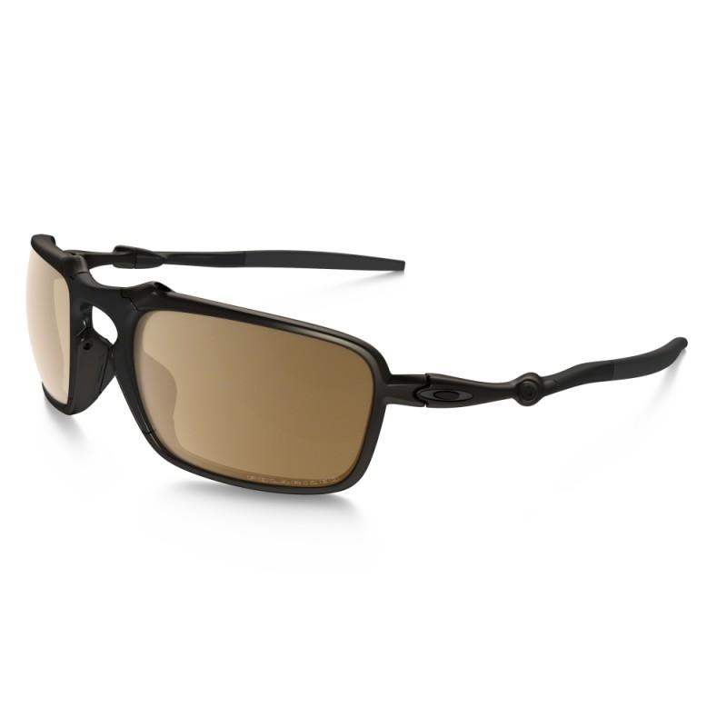 Oakley Badman Pewter Tungsten Iridium Polarized Sunglasses $125 shipped @ BlingDaily & Shnoop