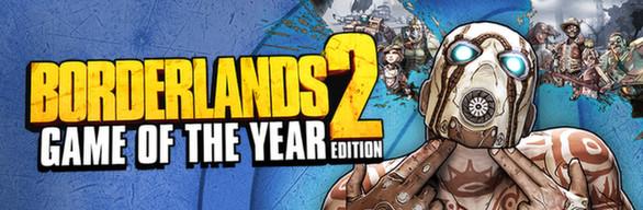 PC Digital Download: Borderlands 2: GOTY $7.75 or Borderlands: GOTY $5.81 via Green Man Gaming